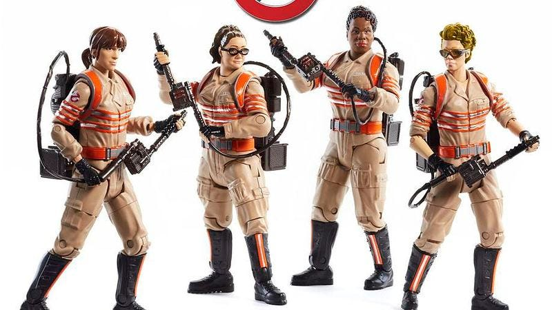 Illustration for article titled New Ghostbusters toys are coming, but where are the guys?