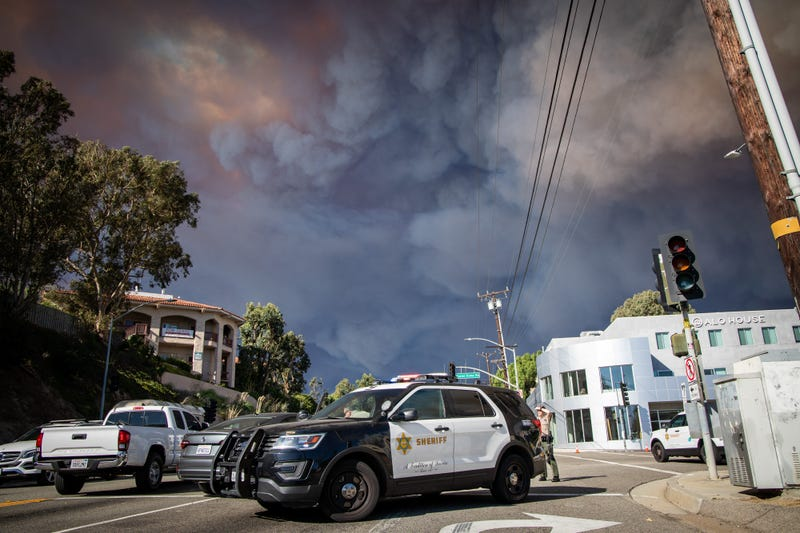 Here's What I Saw as I Fled the Wildfire in Malibu