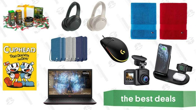 Tuesday s Best Deals: Sony WH-1000XM4 Headphones, Tommy Hilfiger Bath Towels, Dell G3 Gaming Laptop, Cornbread CBD Holiday Survival Kit, Cuphead, and More