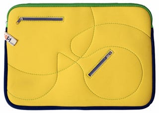 Illustration for article titled LooptWorks Wetsuit Sleeves Make Perfect Gift for Surfing Laptops