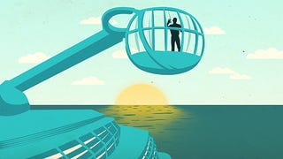 Illustration for article titled The World's Most Futuristic Cruise Ship Made Me Miss the Past