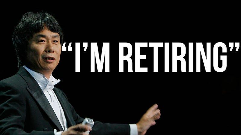 "Illustration for article titled Creator of Mario, Zelda Says ""I'm Retiring"", Will Make Smaller Games [Update]"