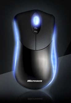Illustration for article titled Microsoft Habu Gaming Mouse Tracks Motion to 20Gs and Glows Crazy Blue