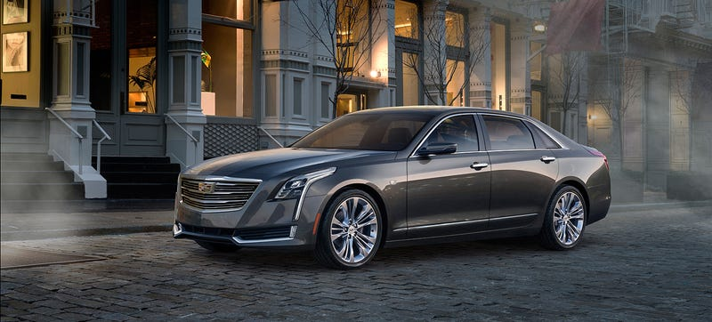 Illustration for article titled The Cadillac CT6 Is A Return To Rolling In Resplendent American Luxury