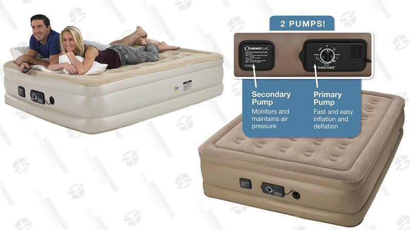 Insta-Bed Never Flat Air Mattress | AmazonSerta Never Flat Air Mattress With Pillow Top | Amazon