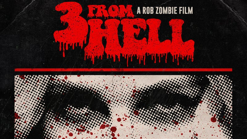 Illustration for article titled Rob Zombie's 3 From Hell is coming to theaters for a special 3-night event