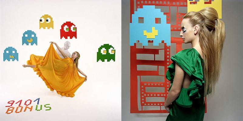Illustration for article titled Fashion Label Goes Pouty For Pac-Man