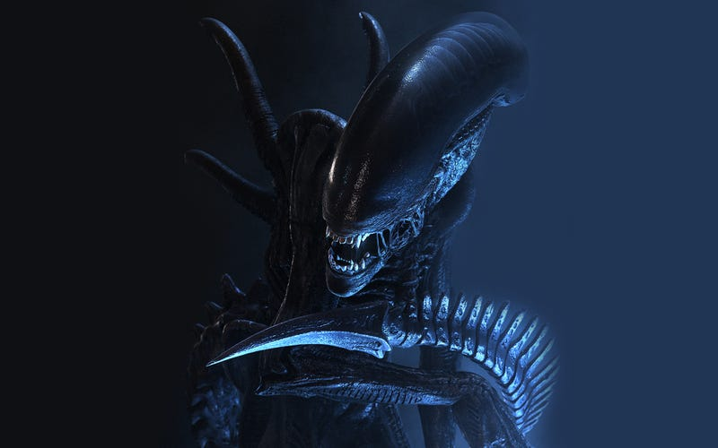 """Illustration for article titled Is """"Xenomorph"""" Spelled With A Little """"x,"""" Or A Big """"X""""?"""