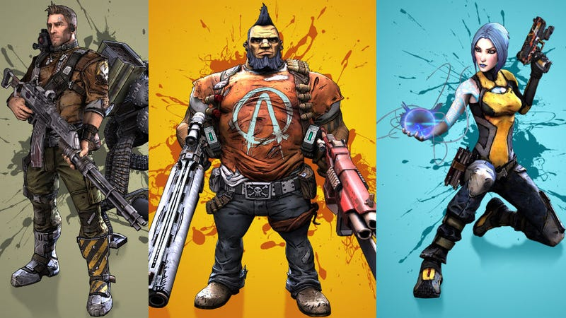 Represent Your Borderlands 2 Character With Some Fancy Wallpaper