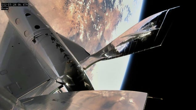 Virgin Galactic's VSS Unity Nails Its First Space Flight in Two Years
