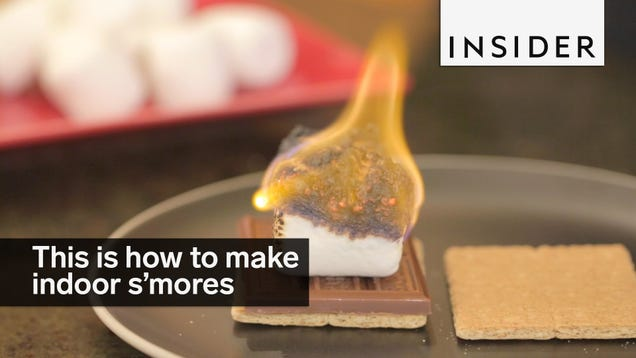 Make Perfect S'mores Indoors With a Culinary Torch