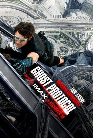 Illustration for article titled Mission: Impossible: Ghost Protocol IMAX Poster
