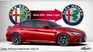 Alfa Romeo is changing their logo.