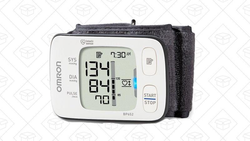 Monitor de presión sanguínea Omron, $40