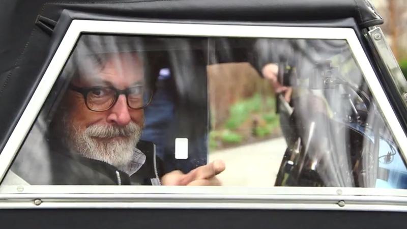 comedians in cars getting coffee season 6 stephen colbert in a morgan. Black Bedroom Furniture Sets. Home Design Ideas