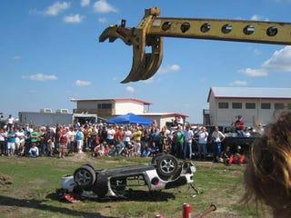Illustration for article titled LeMons Texas People's Curse Winner: Bum Steers Mazda Miata!