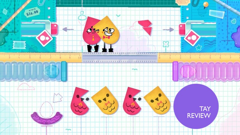 Illustration for article titled Snipperclips: The TAY Review