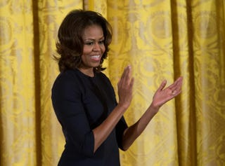 First lady Michelle ObamaNICHOLAS KAMM/AFP/Getty Images