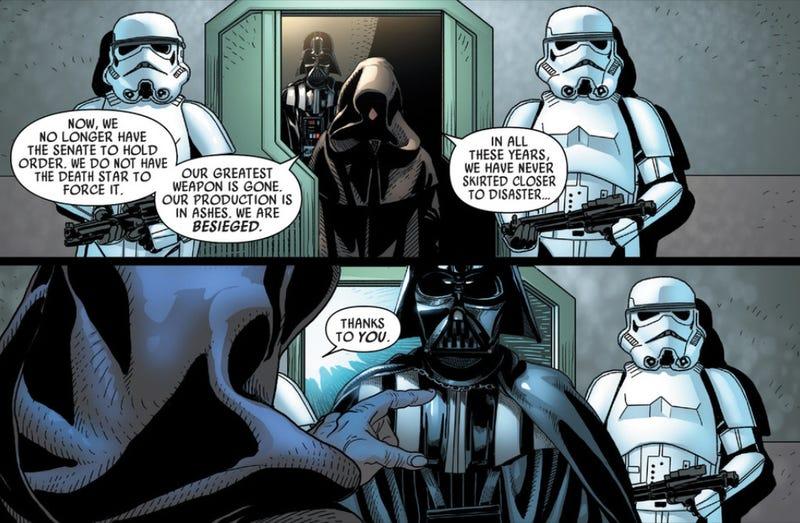 old stormtroopers meet new stormtrooper vs storm trooper