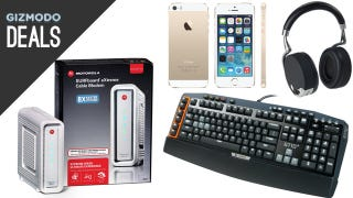 Illustration for article titled Your New Gaming Keyboard, Your Own Modem, Napoleon Dynamite [Deals]
