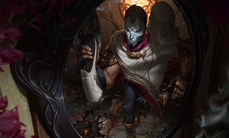 Illustration for article titled League Of Legends Has A New Champion: Jhin