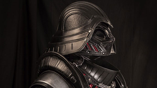 Illustration for article titled Medieval Darth Vader Is Equal Parts Petrifying, Impractical And Amazing
