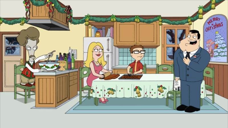 """Illustration for article titled American Dad: """"Season's Beatings"""""""