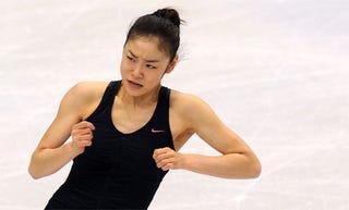 Illustration for article titled Go Gold Or Go Home: Pressure Builds For South Korean Figure Skater