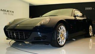 Illustration for article titled 2009 Ferrari 612 Scaglietti in Geneva; Don't Blink, It's the Same on the Outside