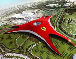 Illustration for article titled Ferrari World Abu Dhabi Is Really A Cylon Ship