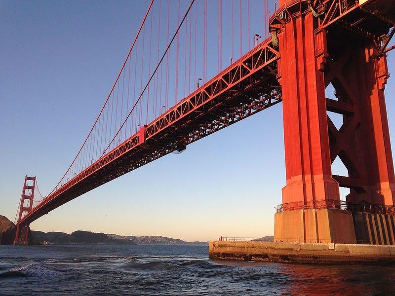 Tardaron cuatro años en construir el Golden Gate, y estas imágenes explican perfectamente la razón