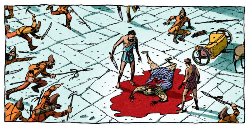 Illustration for article titled DemocracyIs the Anti-300, and One of the Best Graphic Novels of the Year