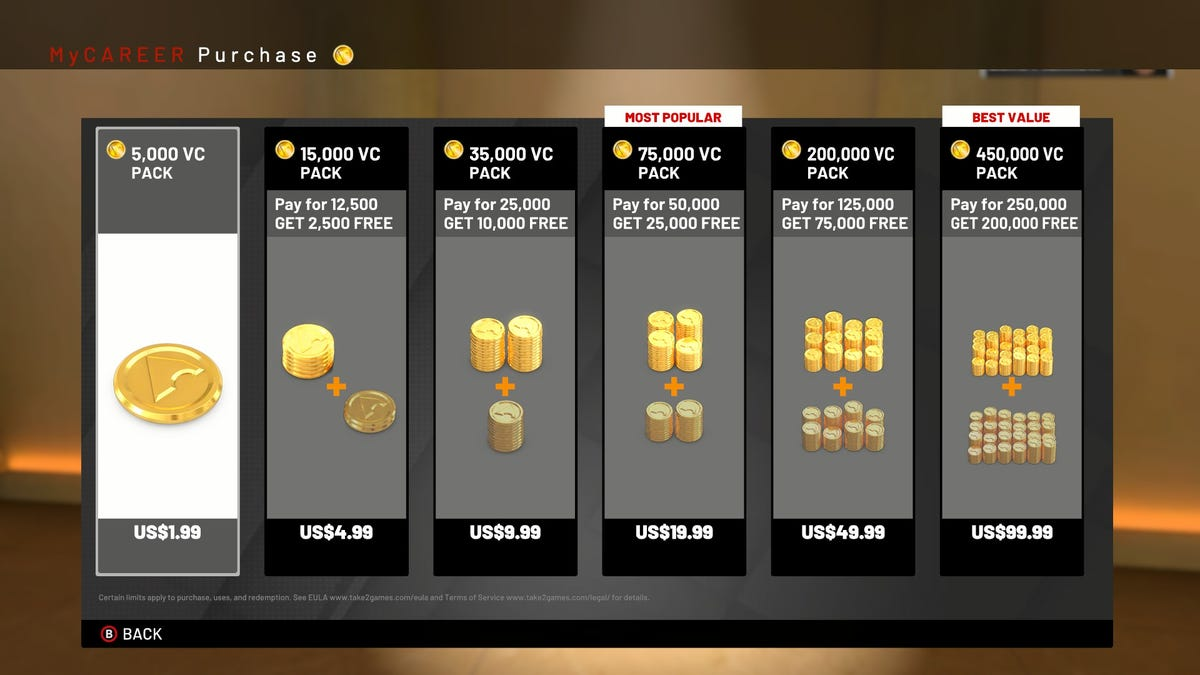 NBA 2K19 Is A Nightmarish Vision Of Our Microtransaction-Stuffed Future