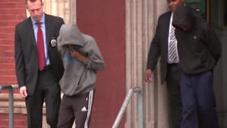 Two of five teens who were arrested and charged with gang-raping an 18-year-old woman in Brooklyn, N.Y., in January 2016. Charges against all five have now been dropped.ABC 7 screenshot