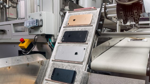 Apple's E-Waste Problem Will Take More Than Robots to Solve