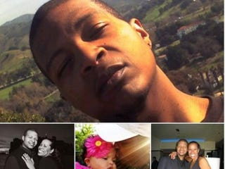 Photo montage of Damien Gurganious and his familyYoucaring.com Screenshot