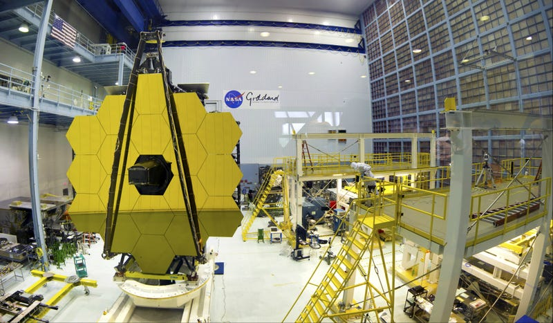The James Webb Telescope, pictured here, has been plagued by delays, technical hurdles, and shoddy workmanship.