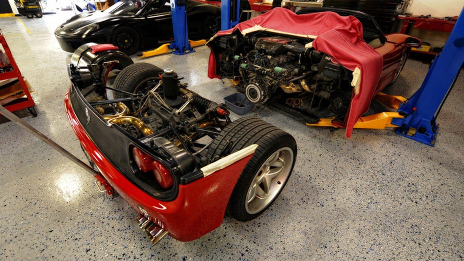 Ferrari F50 Supercar Teardown