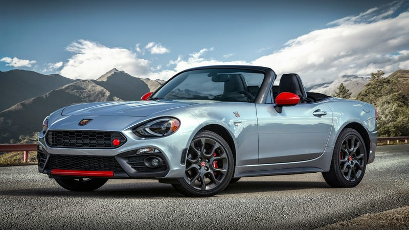 The 2019 Fiat 124 Spider Abarth.