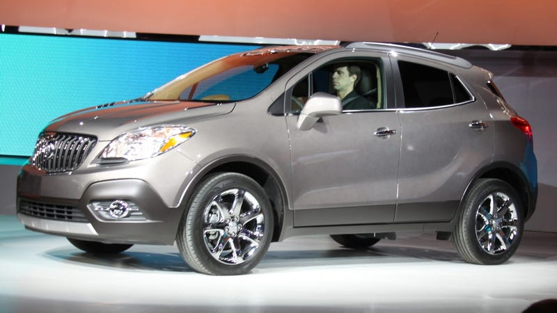 Illustration for article titled Buick Encore: Live Photos
