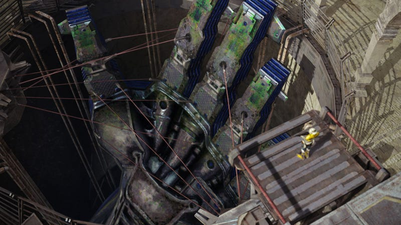 Illustration for article titled Let's Give a Big Hand to This New Set of Final Fantasy XIII-2 Screens
