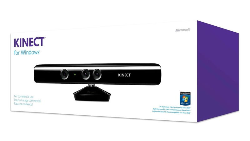 Illustration for article titled Kinect Coming to Windows on February 1 (and Costs $250??) [Update]