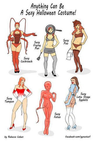 Illustration for article titled Sexy Halloween costumes