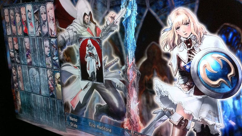 Illustration for article titled Is Assassin's Creed's Ezio In Soulcalibur V?