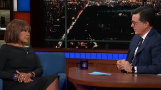 Gayle King, Stephen Colbert