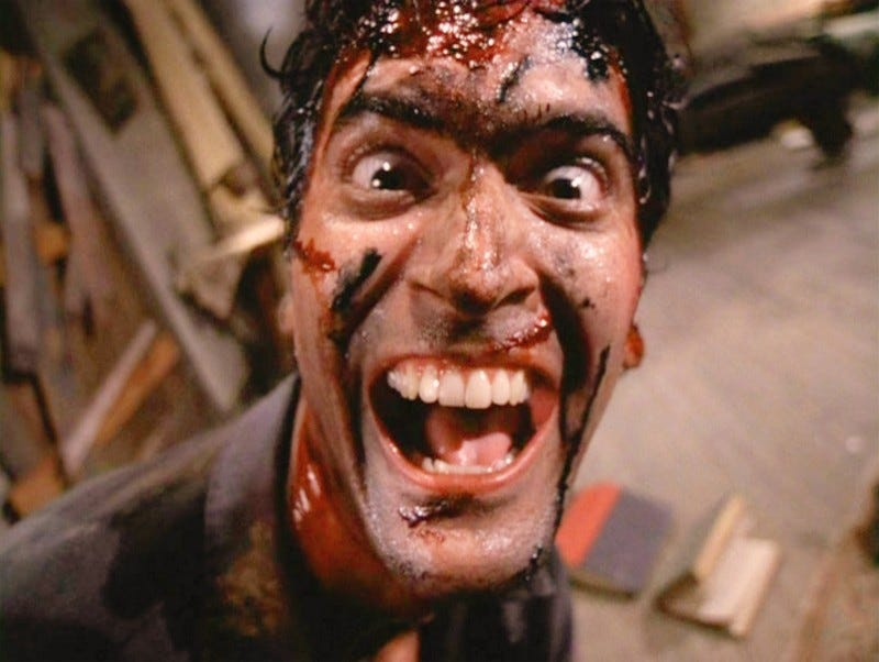 Illustration for article titled Bruce Campbell Will Star In Evil Dead Sequel TV Series. Hell. Yes.
