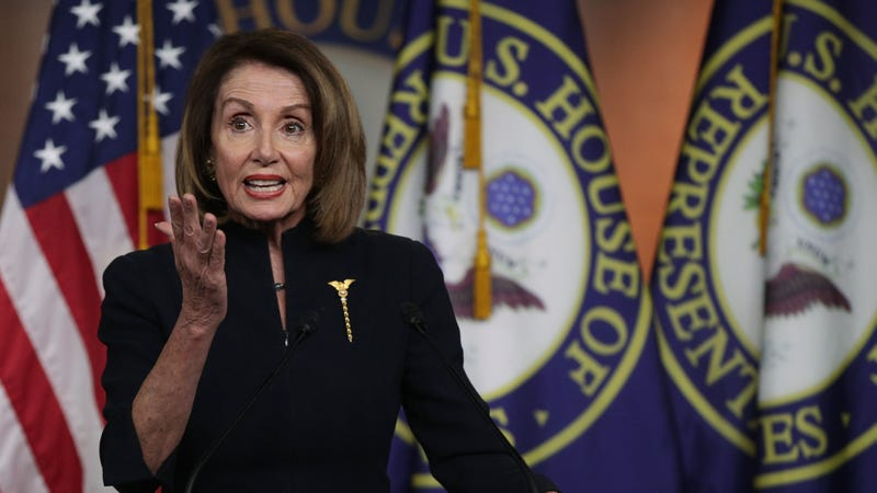 Speaker of the House Rep. Nancy Pelosi (D-CA) speaks during a weekly news conference at the U.S. Capitol February 14, 2019 in Washington, DC.