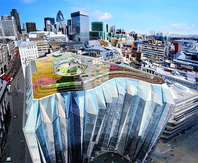 Illustration for article titled Accordion-Shaped Building to be Squeezed into City of London