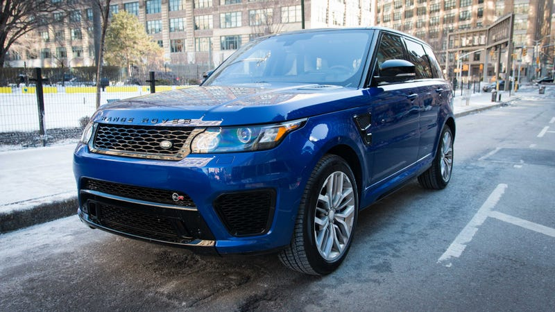 Illustration for article titled The Range Rover Sport SVR Is The Closest I'll Get To Flying A Military Jet
