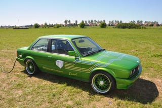 This Electric Bmw E30 Is Fast And Green